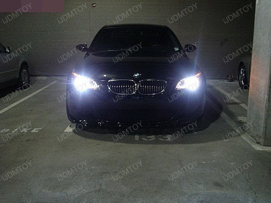 BMW - 530i - 6000K - HID - headlights - 1